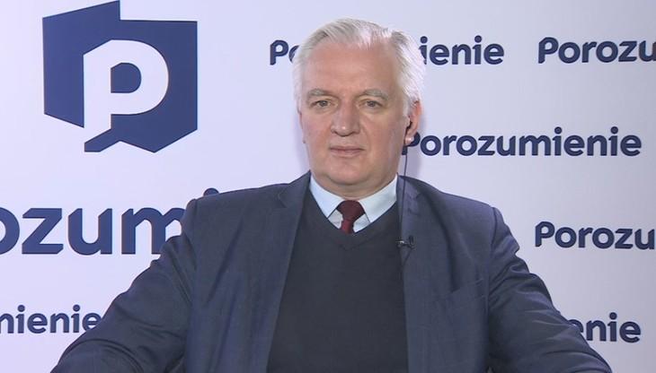 """Jarosław Gowin podał """"najlepszy"""" termin wyborów"""