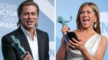 Jennifer Aniston i Brad Pitt w objęciach. Pierwsze wspólne zdjęcie od lat