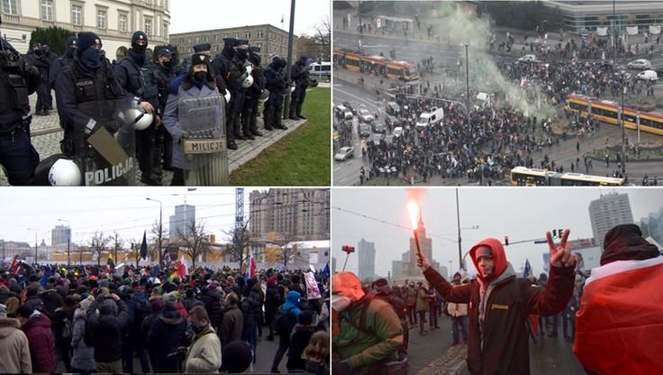 Kobiety, rolnicy, górale i przedsiębiorcy. Protesty w Warszawie