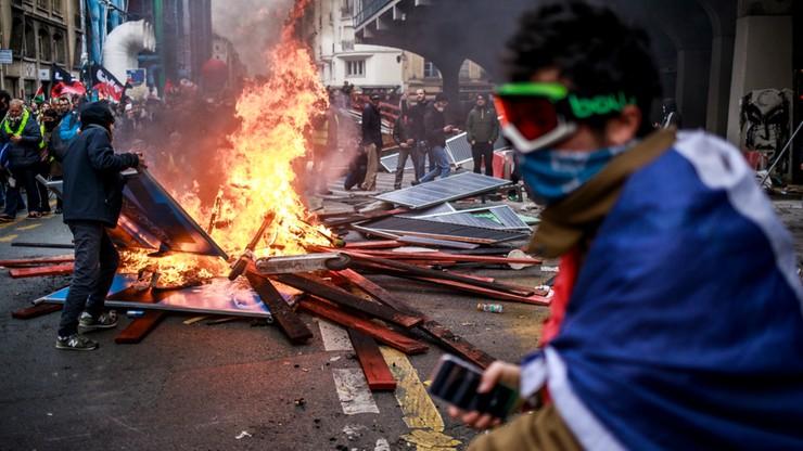 Francuzi strajkują przeciw reformie emerytalnej. W Paryżu starcia z policją