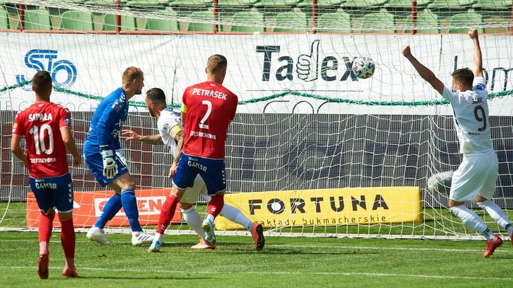 PKO BP Ekstraklasa: Raków przegrał z Zagłębiem