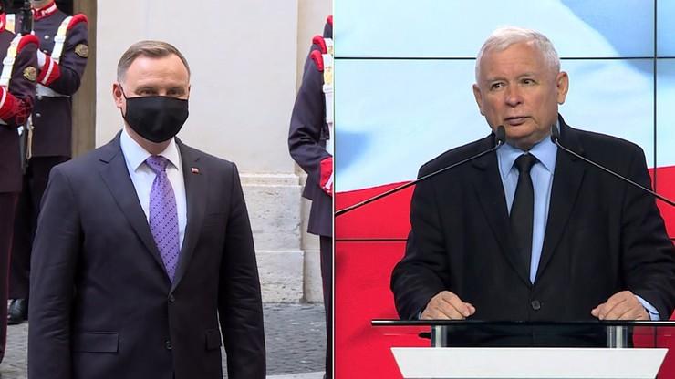 Kaczyński w rządzie. Prezydent o tym pomyśle wiedział na początku września