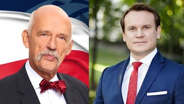 """""""Wypłacę temu szaleńcowi sprawiedliwość"""". Tarczyński czeka na """"pierwsze spotkanie"""" z Korwin-Mikkem"""