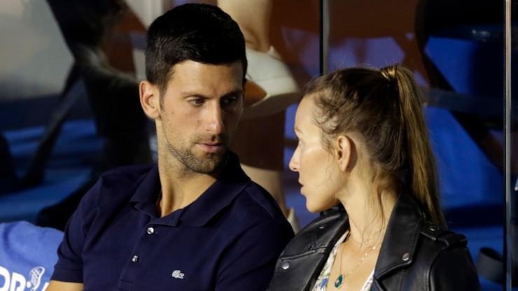 Tenisiści grający na turniejach Djokovica zarazili swoje żony