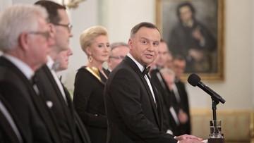 Prezydent spotkał się z korpusem dyplomatycznym. Nawoływał do dialogu i deeskalacji konfliktów
