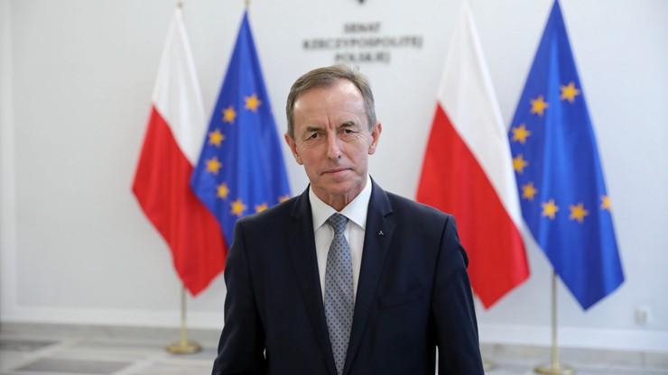 """""""To jest nasz mandat, by zaprosić go do złożenia wyjaśnień"""". Marszałek Senatu o szefie NIK"""
