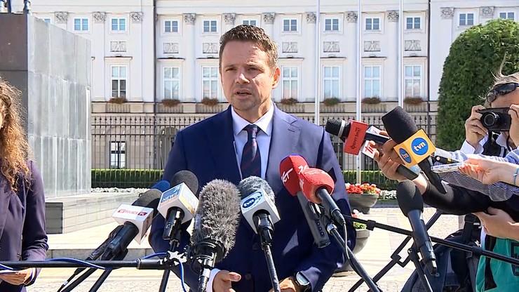 Trzaskowski: złożyłem na ręce prezydenta projekt ustawy