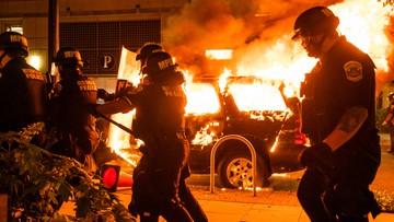 Zamieszki w USA. Starcie z policją przed Białym Domem