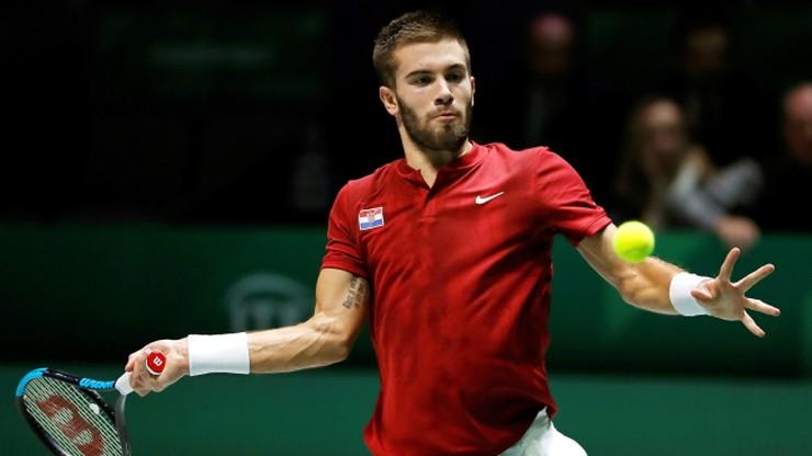 Puchar Davisa: Obrońcy trofeum przegrali pierwszy mecz finałów