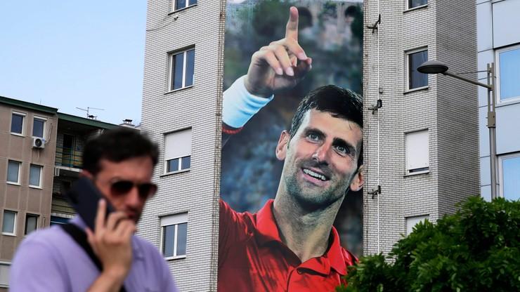 Novak Djokovic zainspirował artystę. Takiego portretu jeszcze nie miał