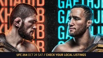 UFC 254: Khabib - Gaethje. Gdzie obejrzeć?