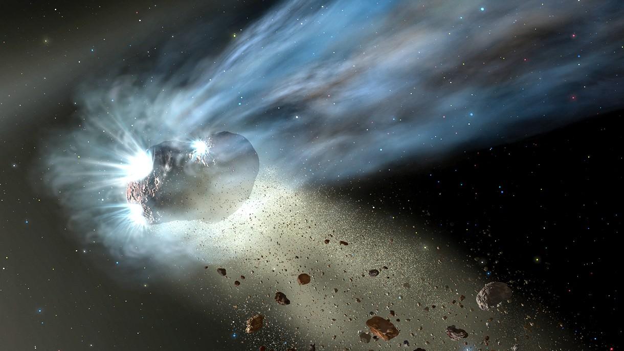 Nowy, tajemniczy międzygwiezdny przybysz to niedoszła planeta z innego świata
