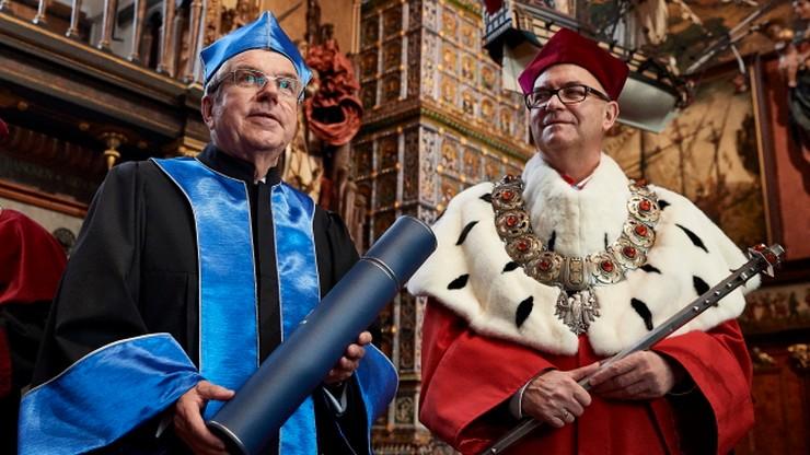 Szef MKOl doktorem honoris causa Uniwersytetu Gdańskiego