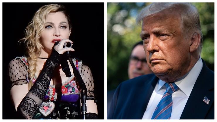 """Madonna i Trump ocenzurowani. """"Fałszywe informacje o koronawirusie"""""""