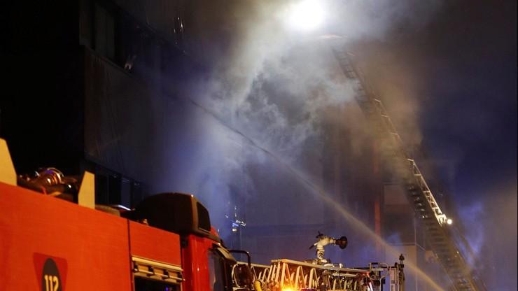 Pożar bloku w Hiszpanii. Dwie osoby nie żyją, kilkanaście jest rannych