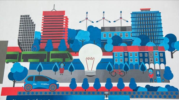 Niezwykły mural w Poznaniu. Będzie... oczyszczał powietrze