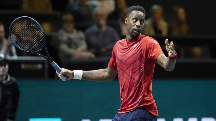 ATP w Rotterdamie: Monfils i Auger-Aliassime w finale
