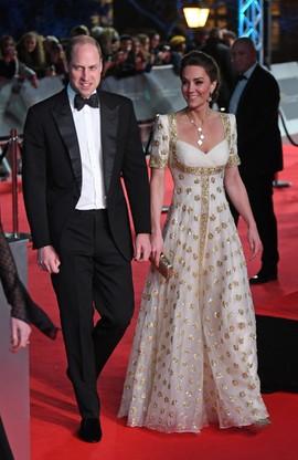 W ceremonii wzięli udział także książę William i księżna Catherine.