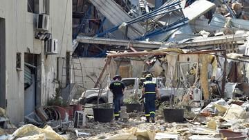 """""""Obca ingerencja"""". Prezydent Libanu o możliwych przyczynach wybuchu w Bejrucie"""