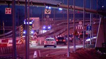 Zamknięty węzeł autostrady A1. Wiadukt zaczął pękać po siedmiu latach od oddania