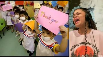 One World: Together At Home. Światowe gwiazdy zaśpiewały dla służby zdrowia