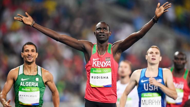 Tokio 2020: Rudisha chce trzeciego złota. Rozpoczął treningi