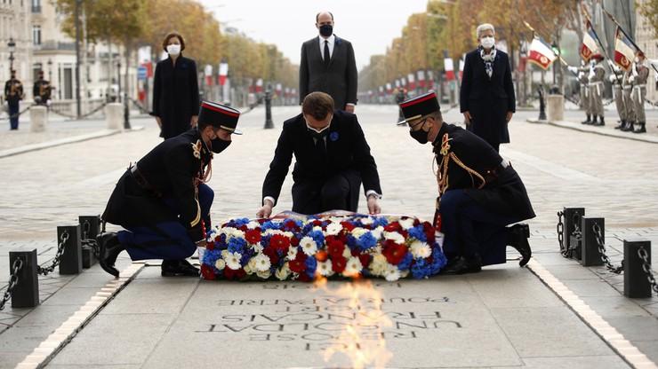 Obchody 11 listopada. Prezydent Francji złożył kwiaty przed grobem Nieznanego Żołnierza