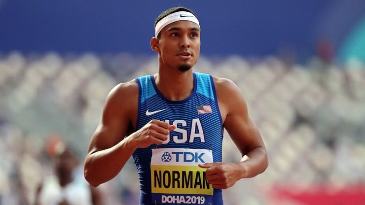 Michael Norman przebiegł 100 metrów w 9,86