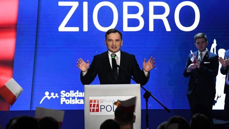 Ziobro: wpływowa grupa sędziów bierze za zakładników miliony Polaków