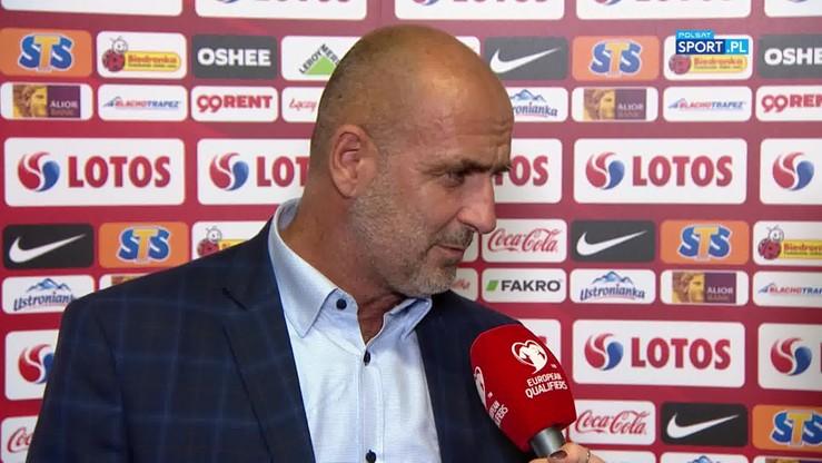 2019-10-14 Probierz: Trzeba pochwalić trenera Brzęczka za zmiany