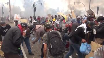 Demonstranci zwyciężyli. Prezydent Ekwadoru zrezygnował z podwyżki cen paliw