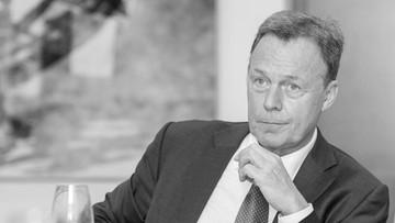 Wiceprzewodniczący Bundestagu zmarł przed występem w telewizji