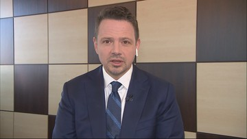 """""""Hucpa"""". Trzaskowski komentuje zarzuty o zbieranie podpisów"""