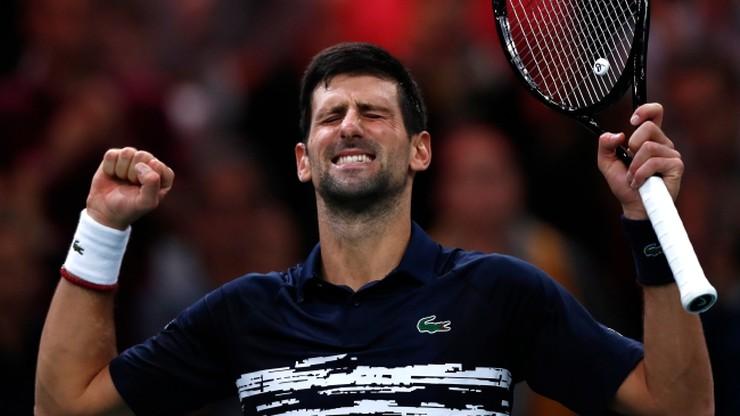 ATP w Paryżu: Piąte zwycięstwo Djokovicia