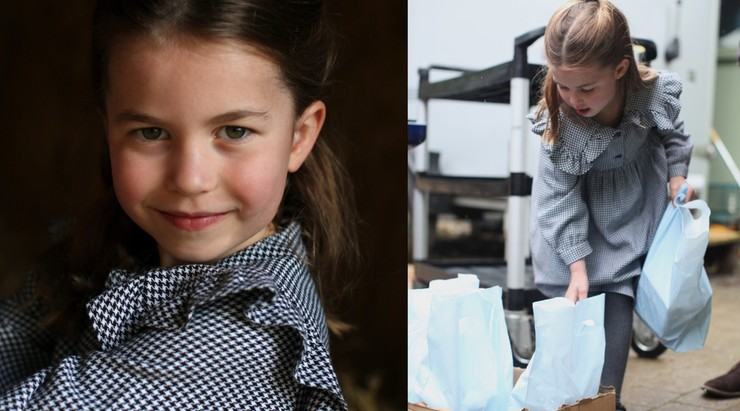 Piąte urodziny księżniczki Charlotte. Kate i William pokazali, jak pomaga seniorom w izolacji