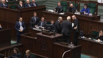 Braun opóźnił expose premiera. Interweniowali Suski i Korwin-Mikke