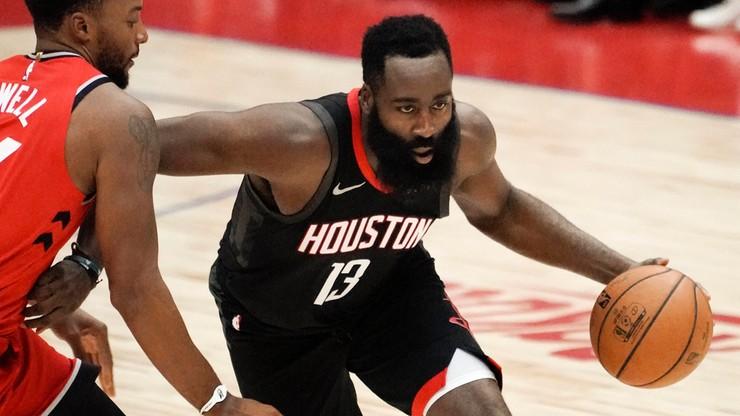 NBA: Harden zdobył 50 punktów, ale Rockets przegrali w San Antonio