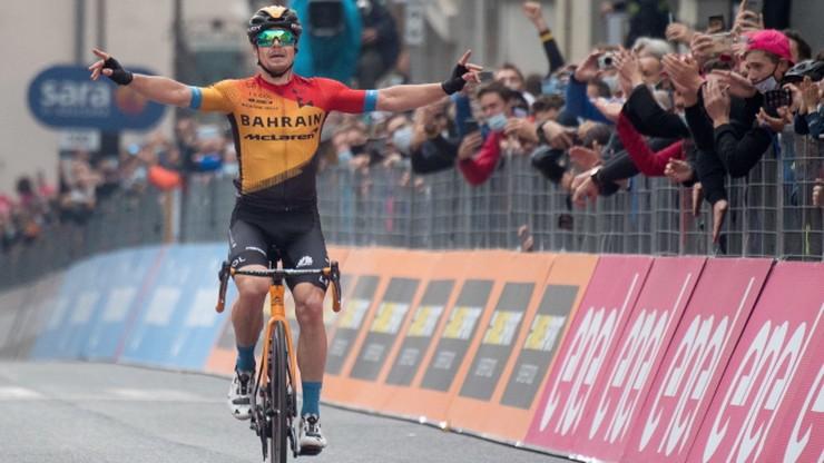 Giro d'Italia: Kamil Małecki tuż za podium, Rafał Majka wciąż w czołówce
