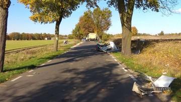19-latek zginął kilka dni przed ślubem. Pręty przebiły szybę jego auta