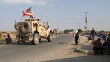 Wojska USA przemieszczają się z Syrii do Iraku