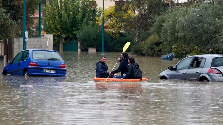 Śmiertelne ofiary powodzi w Europie