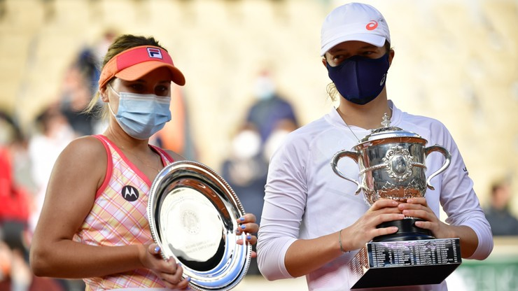 Sofia Kenin: To był świetny turniej w wykonaniu Igi Świątek