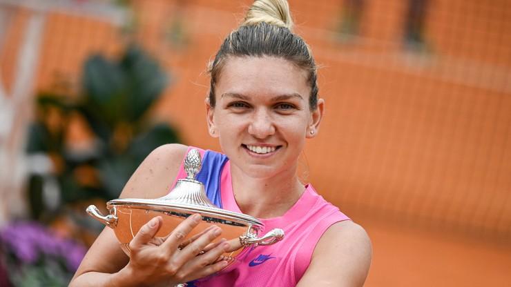 Turniej WTA w Rzymie: Triumf Simony Halep, Karolina Pliskova wycofała się z gry