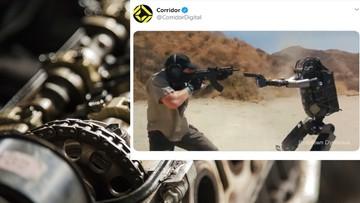 Robot strzela jak zawodowy żołnierz. Popularne nagranie okazało się fejkiem [WIDEO]