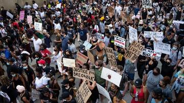 Pokojowe demonstracje w USA po zabiciu George'a Floyda. Żądano reformy policji