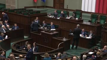 Początek obrad Sejmu. Grzegorz Braun wnioskował o przerwę