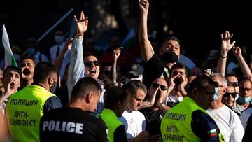 Wiec poparcia dla prezydenta zamienił się w zamieszki. Niespokojnie w Bułgarii
