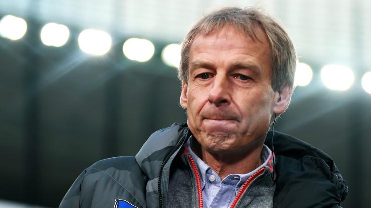 Hertha pogrążona w chaosie po rezygnacji Klinsmanna