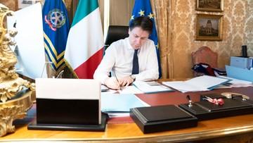 """Radykalna decyzja włoskiego rządu. """"Musimy wytrzymać, by uchronić wszystkich, których kochamy"""""""