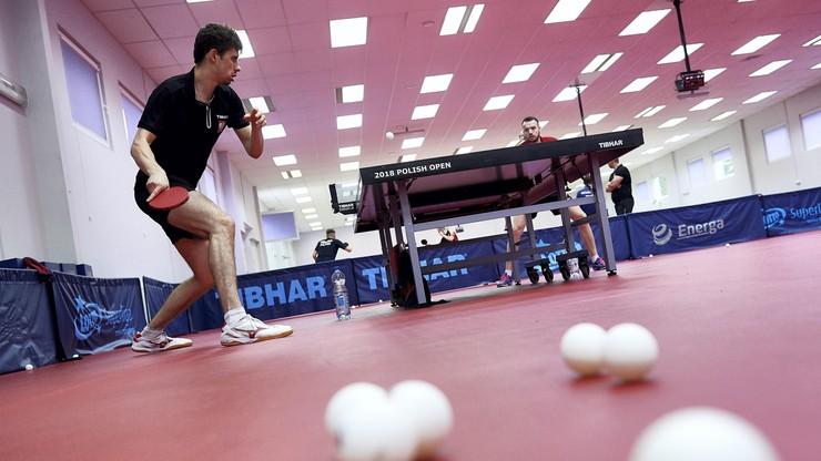 14-latek postawił zacięty opór najlepszemu polskiemu tenisiście stołowemu